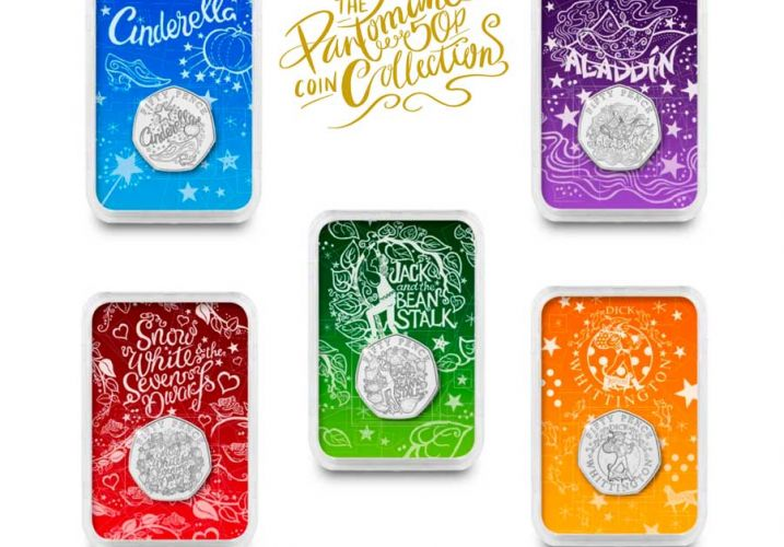 PANTOMIME COINS COLOUR PACKS